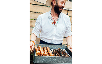 To Host A Better BBQ, Do This: Chris Benz Shares His Best End of Summer Party Tips