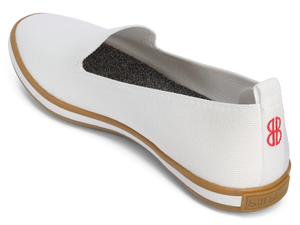 Sutton Knit Slip On - White