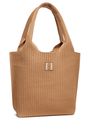 Sutton City Tote - Buckthorn Stripe -medium