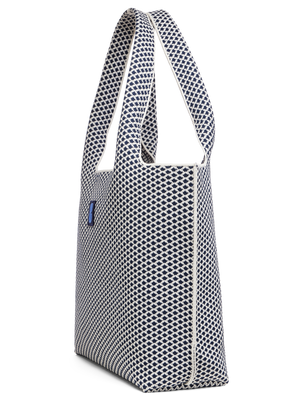 Sutton City Tote - Navy Diamond - Large