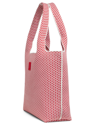 Sutton City Tote - Red Diamond - Large