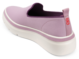 Sutton Knit Sneaker - Fair Orchid