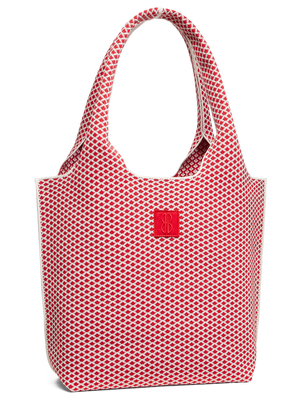 Sutton City Tote - Red Diamond - Medium