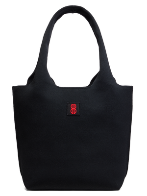 Sutton City Tote - Black Solid - Medium