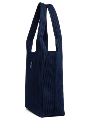 Sutton City Tote - Navy Stripe -medium
