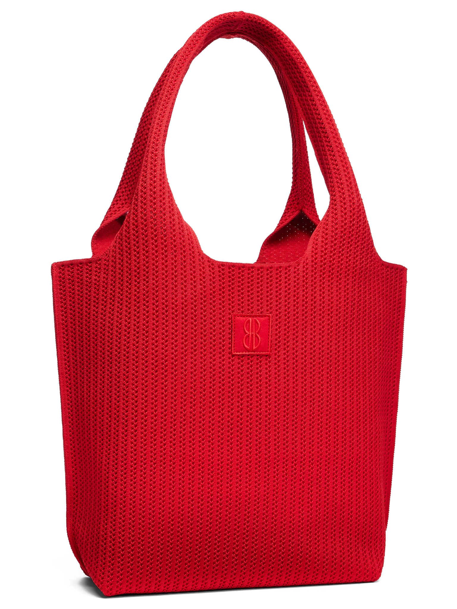Sutton City Tote - Red Stripe -medium