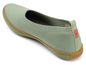 Sutton Knit Ballet - Granite Green