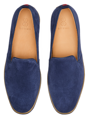 Sutton Slip On - Blueberry