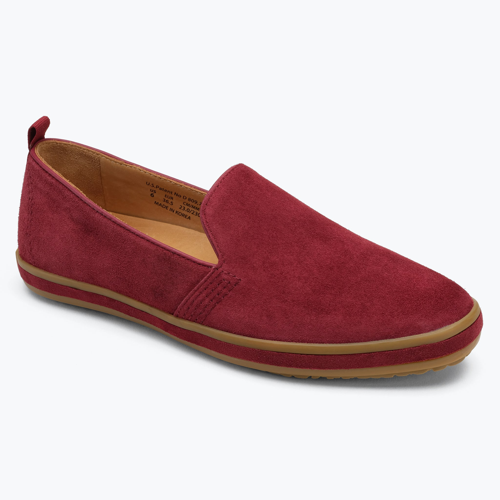 Sutton Slip On - Wine