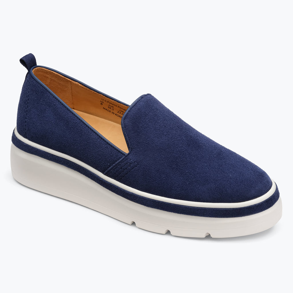 Sutton Sneaker - Blueberry