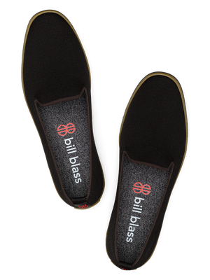 Sutton Knit Slip On - Black