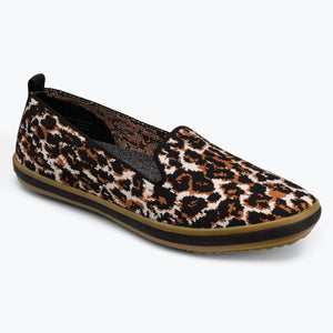Sutton Knit Slip On - Leopard