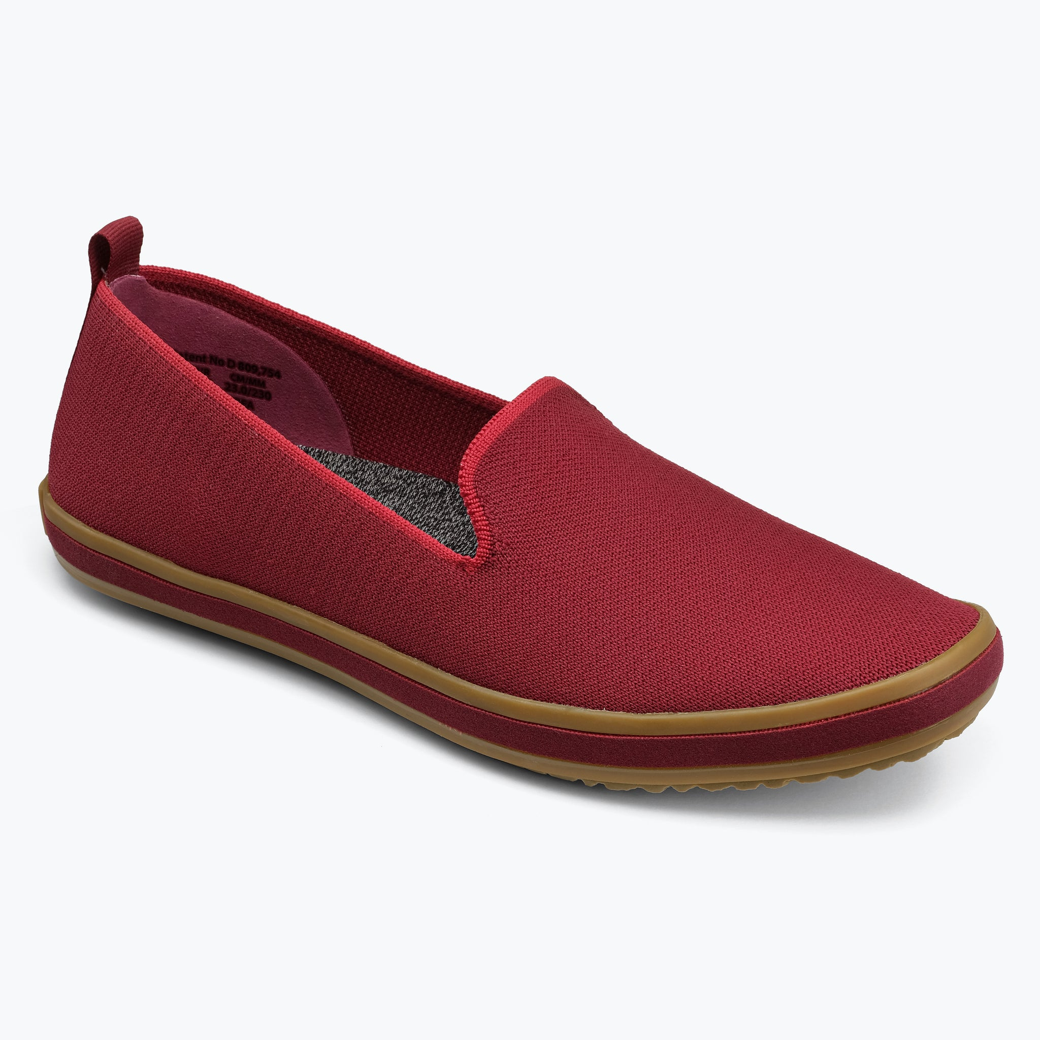 Sutton Knit Slip On - Carmine