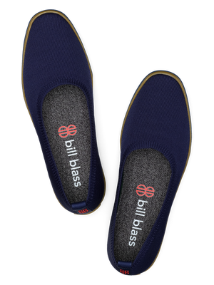 Sutton Knit Ballet - Navy