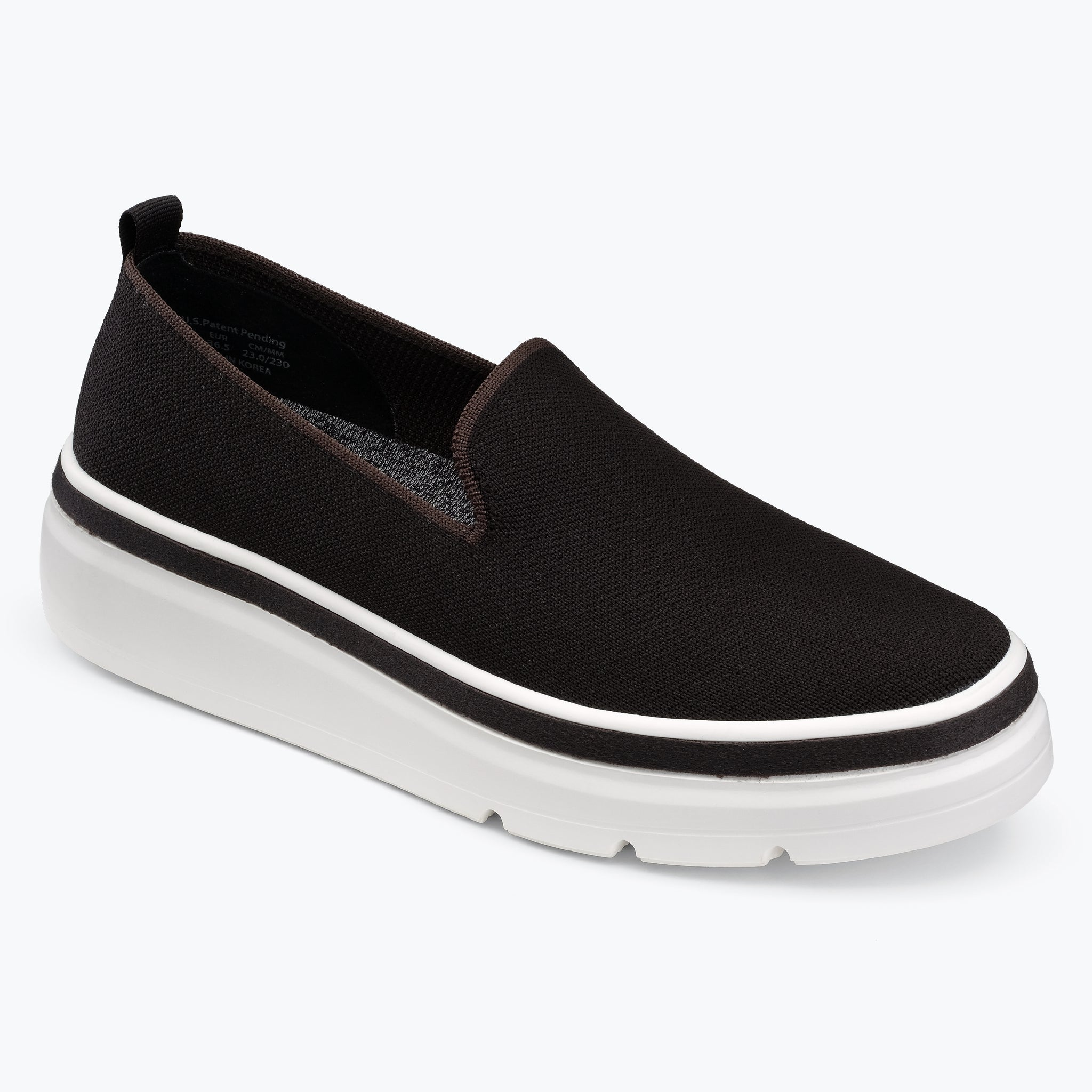 Sutton Knit Sneaker - Black