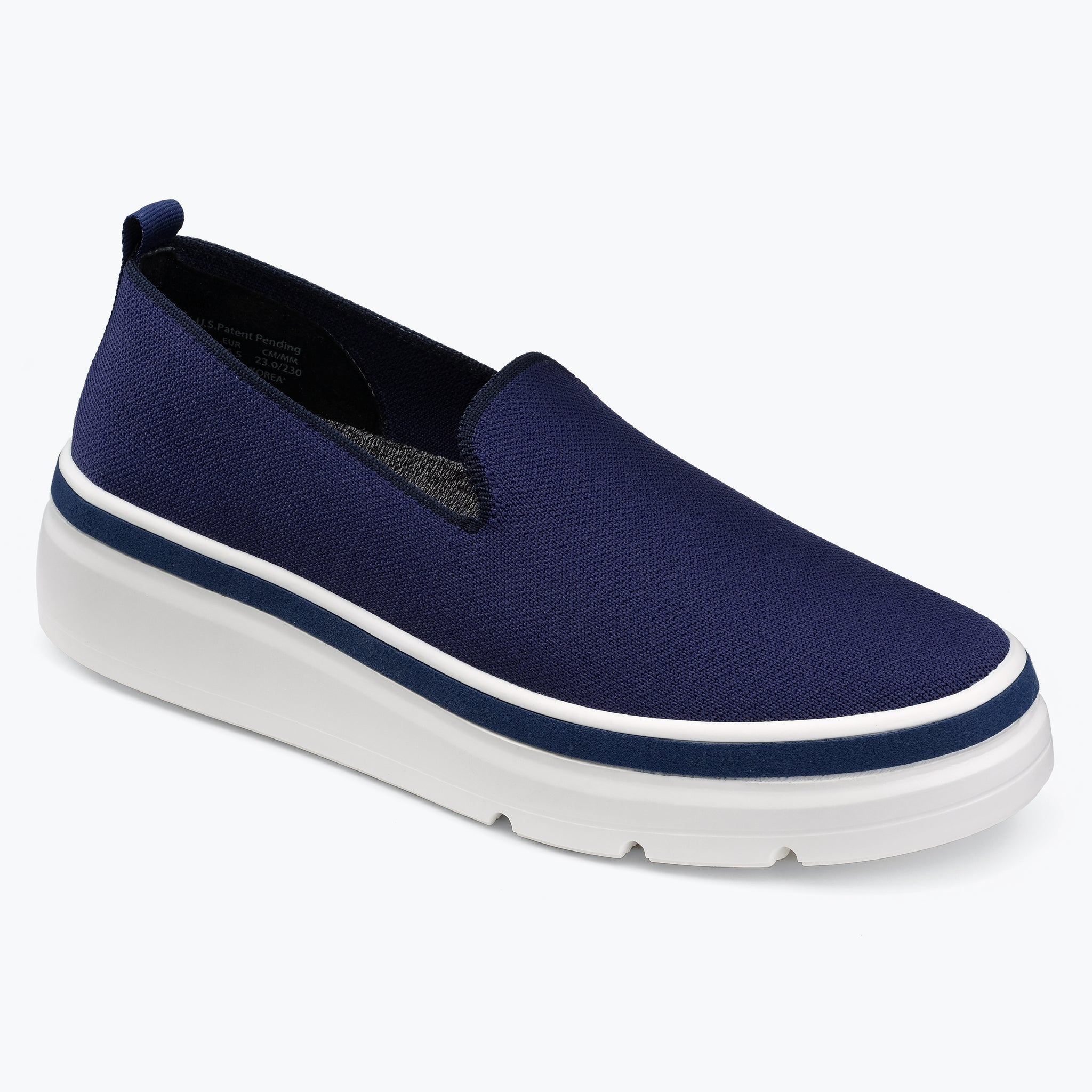 Sutton Knit Sneaker - Navy