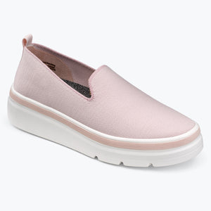 Sutton Knit Sneaker - Wood Rose