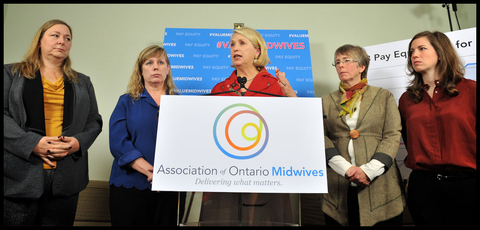 Mary Cornish with The Association of Ontario Midwives