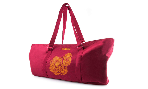 Peace Yoga Yoga Mat Tote Bag