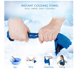 Your Choice Cooling Towel 4 Pack Instant Cool Towel for Sports, Workout, Gym, Yoga, Golf, Hiking, Camp, Travel & All Outdoor Activities