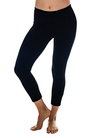 "90 Degree By Reflex 22"" Yoga Capris - Yoga Leggings - Yoga Capris for Women"