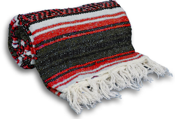 Yoga Accessories Traditional Mexican Yoga Blanket