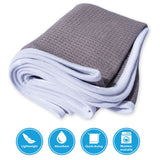 Fitness Gym Towels (2 Pack) for Workout, Sports and Exercise - Soft, Lightweight, Absorbent, Quick-drying, Odor-free, Machine-washable
