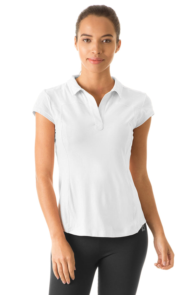 Women's UPF50+ Polo Top (Short Sleeve)