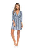 Versatile Beach Tunic - Blue Ocean