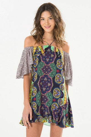 Laura Rose Printed Beach Dress