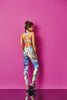 Leggings (Aqua Swim) in Galaxy or Flower
