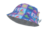 UPF50+ Reversible Baby Hat