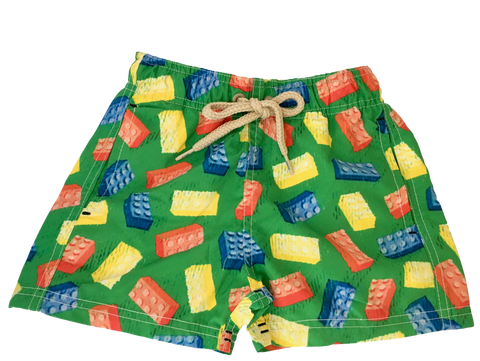 Daddy & Me  Collection: Printed Crabs Shorts with bag - Adult