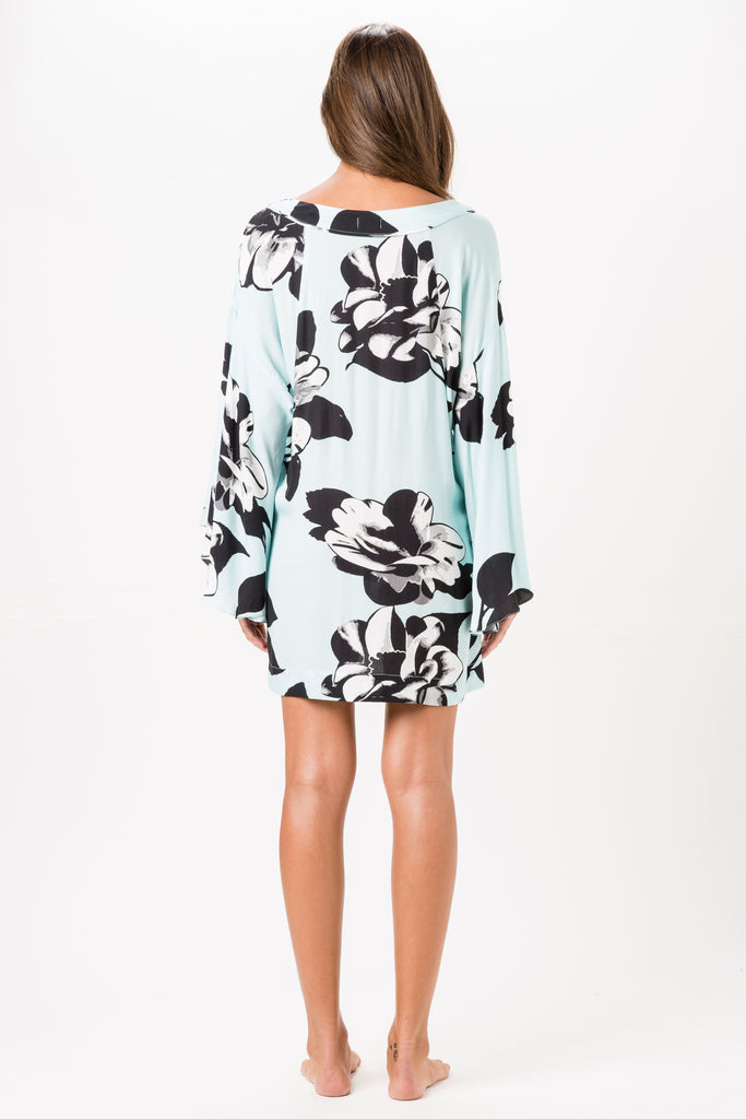 Camelia Printed Beach Dress