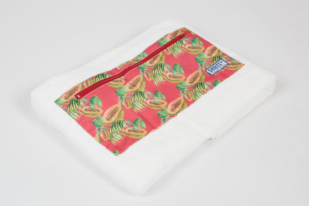 Beach Towel/Blanket - Pink Papaya