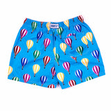 Daddy & Me Collection: Printed Hot Air Balloon Shorts - Adult