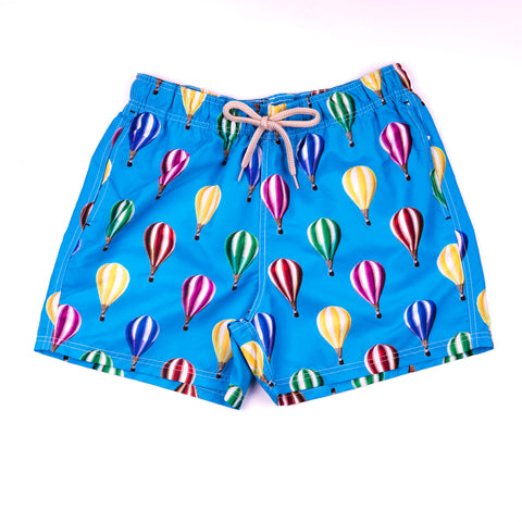 Men's Printed Tropical Banana Bermudas with bag