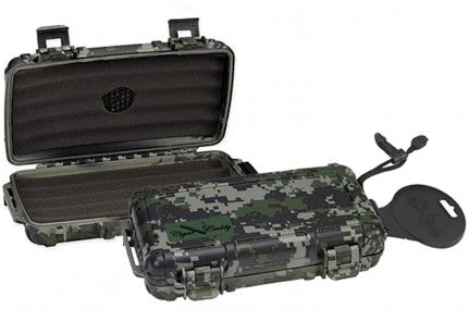 The Cigar Caddy 5 Camo Humidor