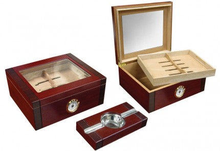 Sovereign Humidor Gift Set