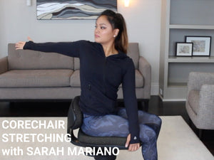 CoreChair Stretch #1 with Sarah Mariano, FST
