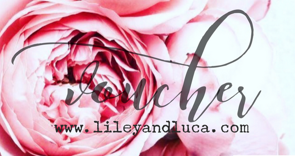 Gift voucher - Liley and Luca