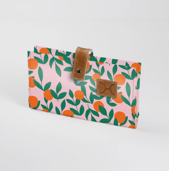 Its all peachy Nappy Wallet  (view all options)