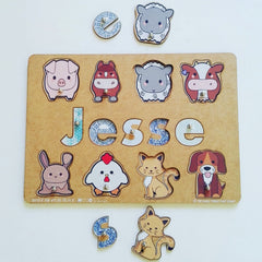 Personalised Name Puzzles - Liley and Luca