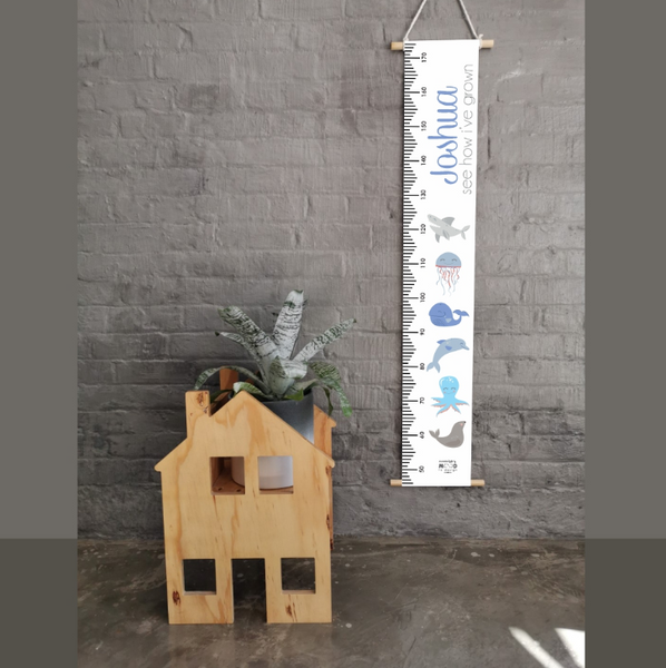 Marine Life Personalised Growth Chart