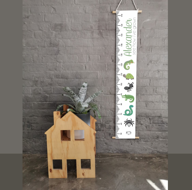 Reptiles Personalised Growth Chart