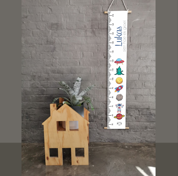 Space Personalised Growth Chart