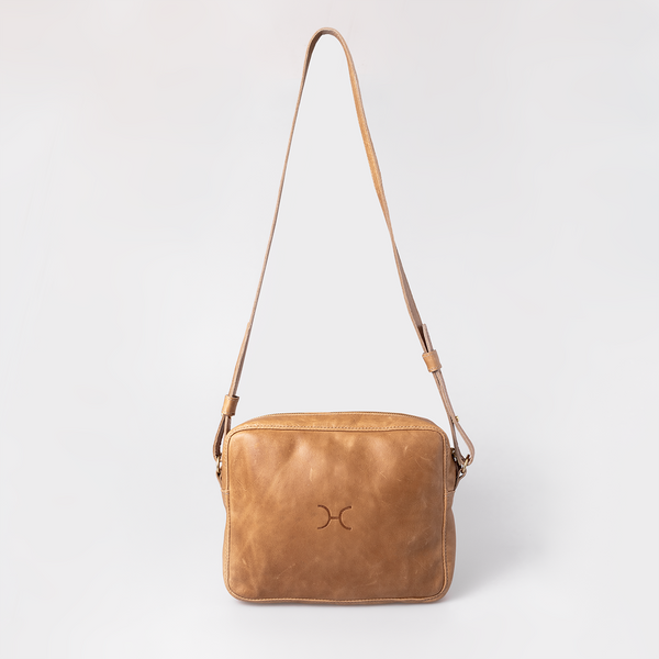Boxy Leather Handbag (view all options)