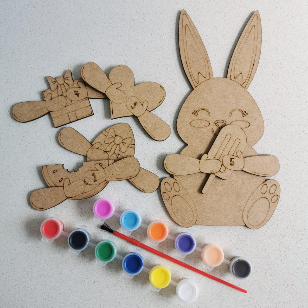 Easter Bunny 5 day countdown kit