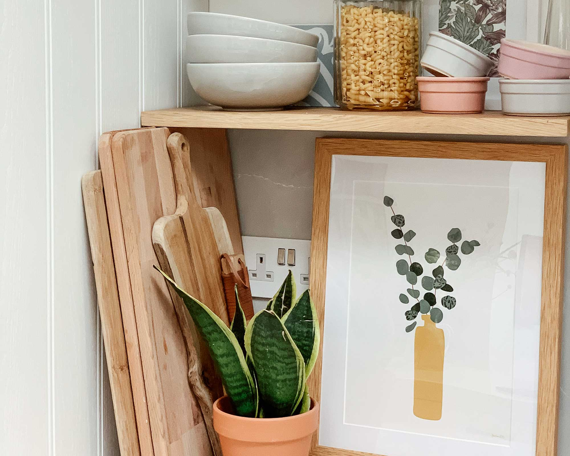 Beautiful Botanical Kitchen Wall Art Prints