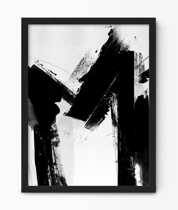 Abstract Letter M Art Print